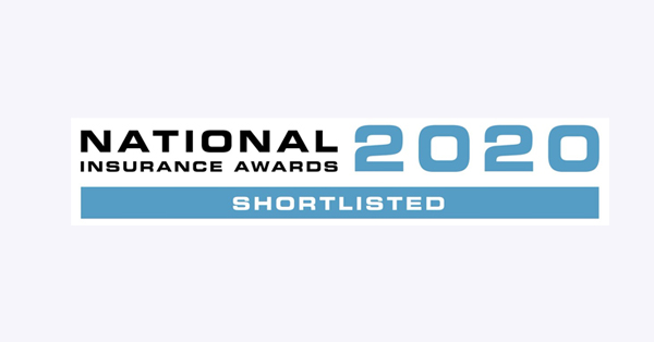 Logo: National Insurance Award 2020 Shortlisted