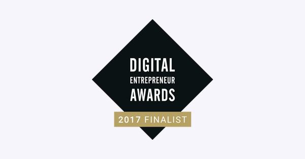 Logo: Digital Entreprenure Awards 2017 Finalist