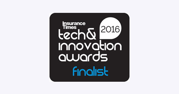 Logo: Insurance Times Tech & Innovation Awards Finalist 2016