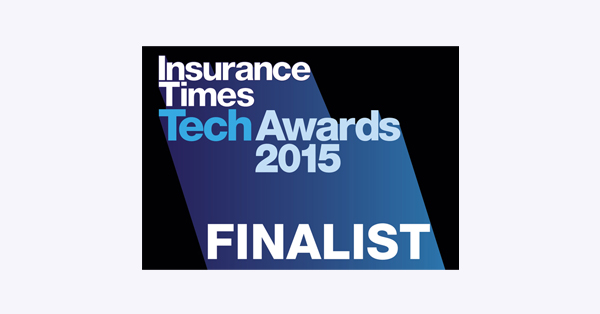 Logo: Insurance Times Tech Awards 2015 Finalist