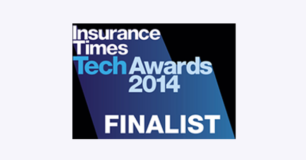 Logo: Insurance Times  TechAwards 2014 Finalist