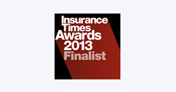 Logo: Insurance Times Awards 2013 Finalist