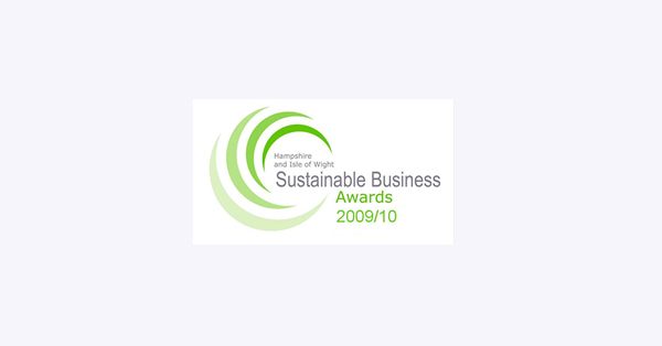 Logo: Sustainable Business Awards 2009/10