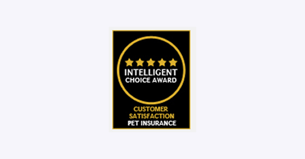 Logo: Intelligant Choice Award Customer Satisfaction Pet Insurance 2010