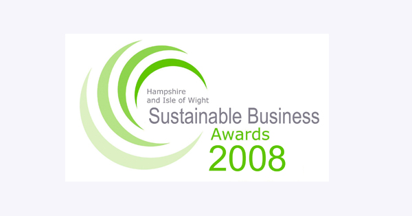Logo: Sustainable Business Awards 2008