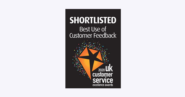 Customer Service Award 2020 Uk